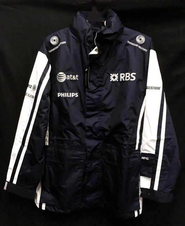 2009 ウィリアムズ チーム支給品 2WAYジャケット(インナー無し) サイズM 新品同様