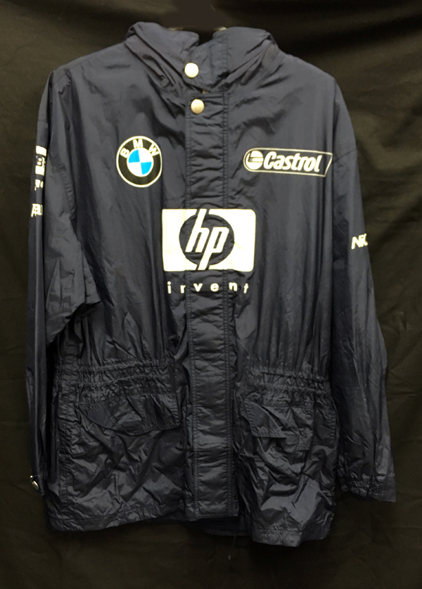 【SALE】2003 ウィリアムズ チーム支給品 レインジャケット サイズUS40(L?XL相当)