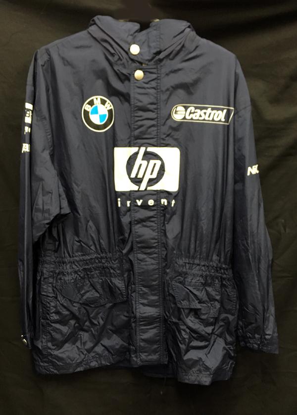 2003 ウィリアムズ チーム支給品 レインジャケット サイズUS40(L~XL相当)