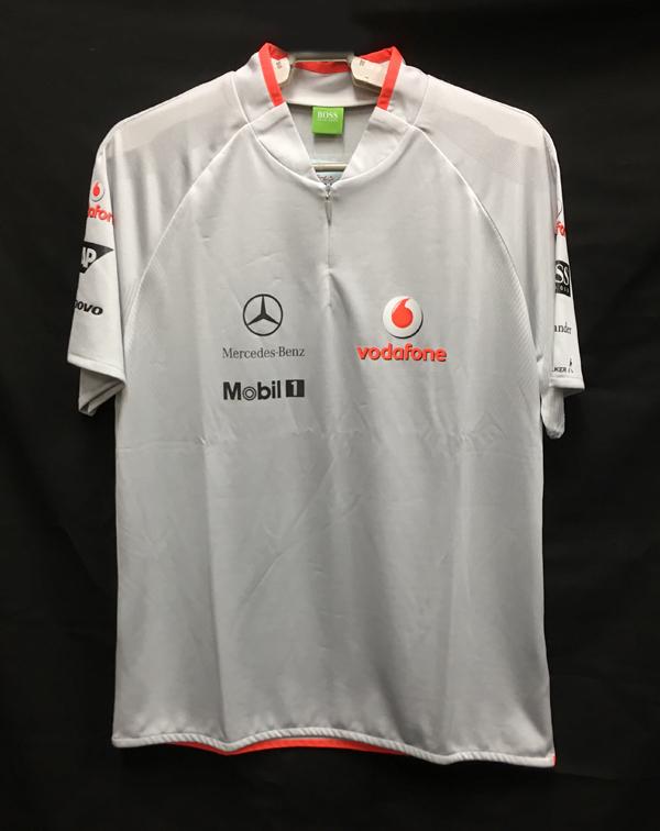 2010  マクラーレン チーム支給品 Tシャツ サイズM 新品同様