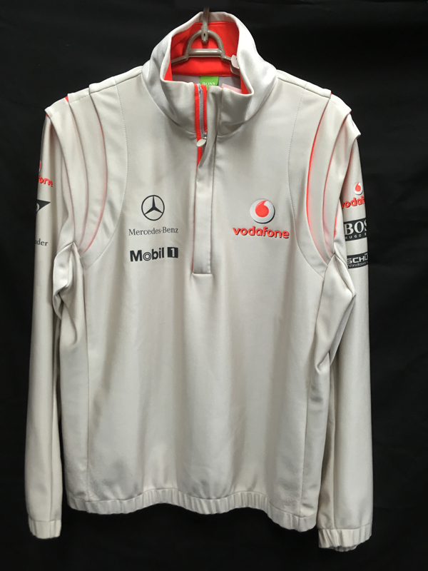 2008 マクラーレン チーム支給品 チームフリース サイズL USED