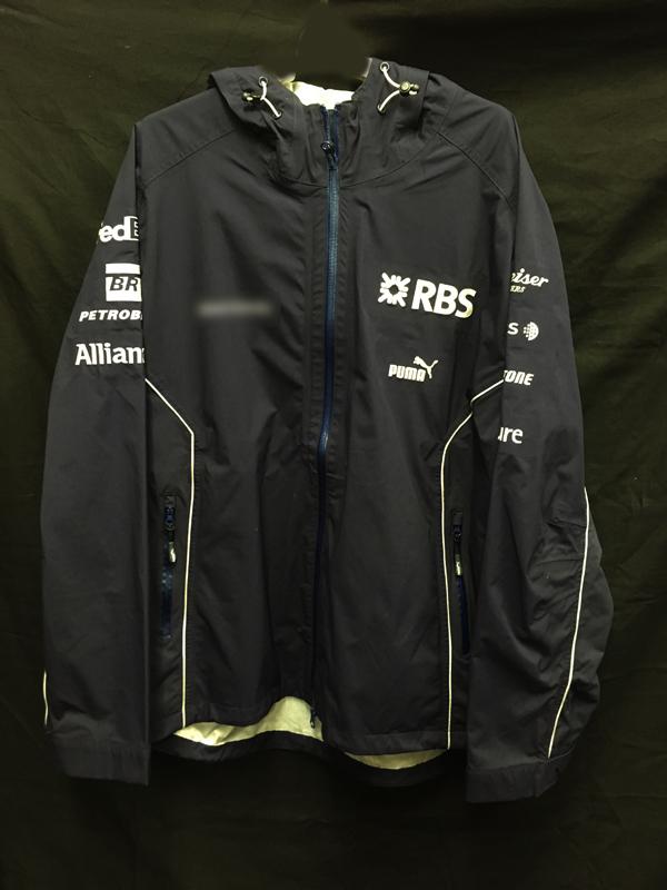 2006  ウィリアムズ チーム支給品 レインジャケット サイズL USED