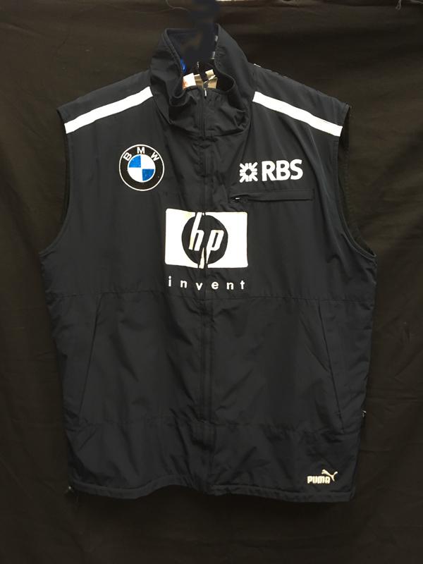 2005 ウィリアムズ チーム支給品 チームベスト サイズXL USED