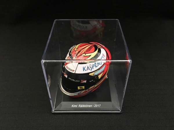 スパーク 海外別注 1/5 フェラーリ K.ライコネン 2017ヘルメット