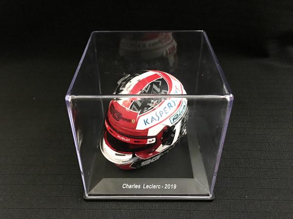 スパーク 海外別注 1/5 フェラーリ C.ルクレール 2019ヘルメット