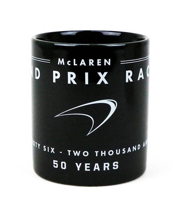 マクラーレン チーム 50周年記念 マグカップ Bタイプ