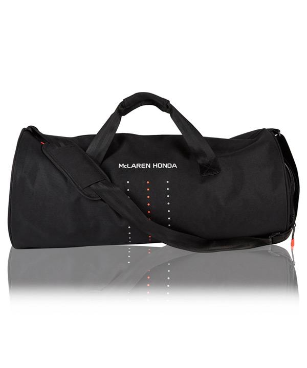 マクラーレン ホンダ 2017 チーム スポーツバッグ サイズ:直径27×横50cm