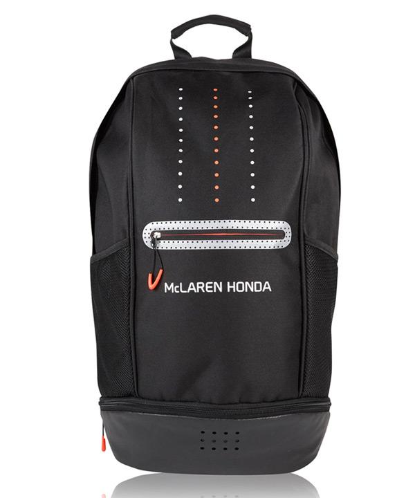 マクラーレン ホンダ 2017 チーム バックパック サイズ:横30×縦48cm×マチ12cm(マチ最大部分18cm)