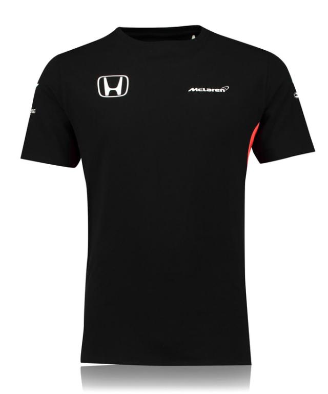 マクラーレン ホンダ 2017 チーム セットアップTシャツ ブラック