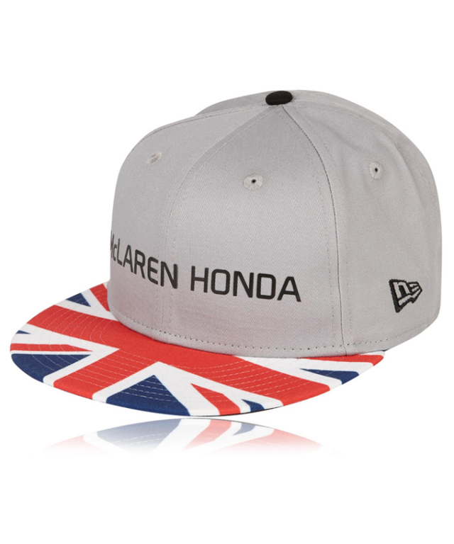 マクラーレン ホンダ 2017 イギリスGP限定 ドライバーズキャップ F.アロンソ NEWERAR 9Fifty®