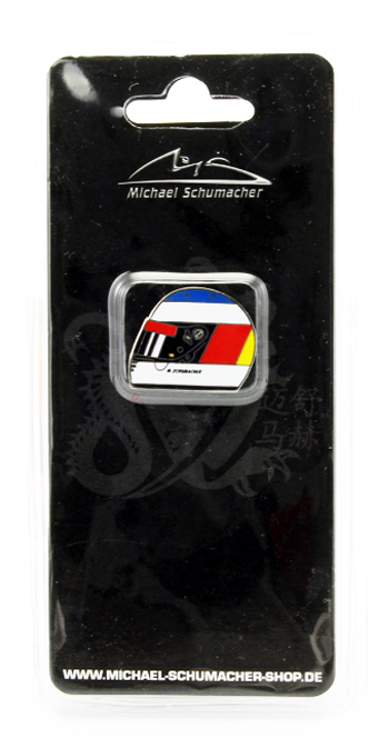 ミハエル・シューマッハ コレクション ヘルメットピンバッチ 1991年ベルギーGP F1デビュー