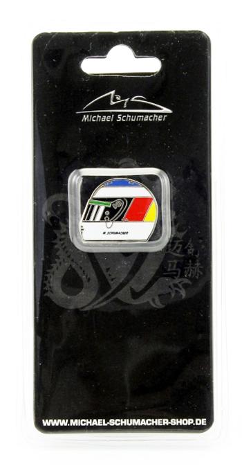 ミハエル・シューマッハ コレクション ヘルメットピンバッチ 1992年ベルギーGP 初優勝