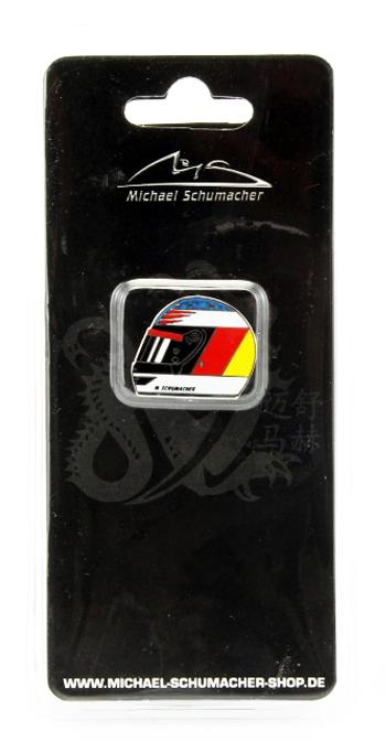 ミハエル・シューマッハ コレクション ヘルメットピンバッチ 1994年初F1 ワールドチャンピオン