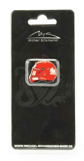 ミハエル・シューマッハ コレクション ヘルメットピンバッチ 2006年フェラーリ ラストイヤー