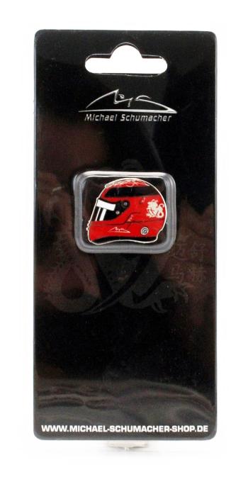 ミハエル・シューマッハ コレクション ヘルメットピンバッチ 2012年ブラジルGP ラストレース