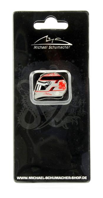 ミハエル・シューマッハ コレクション ヘルメットピンバッチ 2012年ベルギーGP 300戦記念