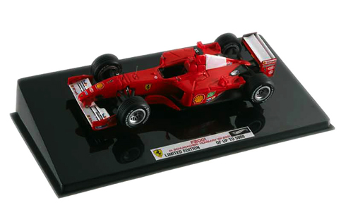 マテル 1/43 フェラーリ F2001 シューマッハ 2001年ハンガリーGP(エリートシリーズ)