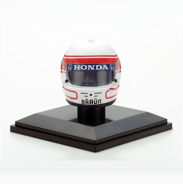 F1ショップ グランプリ別注 スパーク 1/8  中嶋 悟ヘルメットコレクション 第5弾 1991年仕様