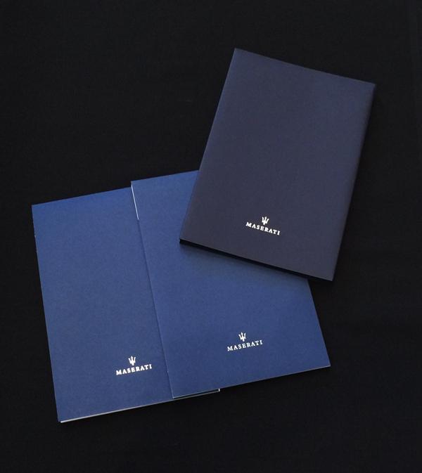【SALE】マセラティ A5サイズ BIGメモ帳 2冊セット