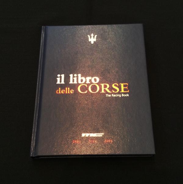 マセラティ 洋書 コルセレーシングブック 2003~2005