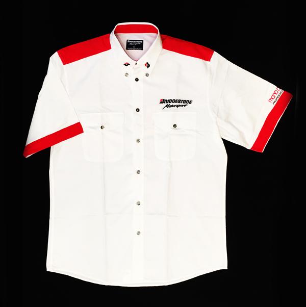 2000年代中期 ブリヂストン F1スタッフ支給品 ピットシャツ USED(新品同様) サイズL