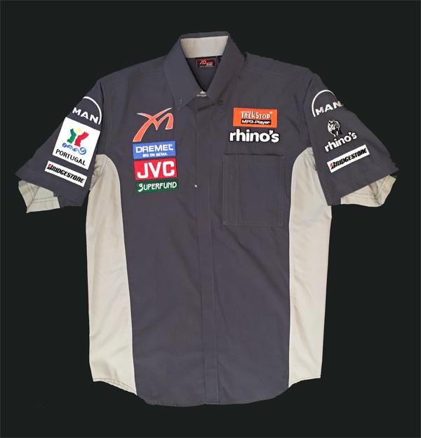 2006年 ミッドランドF1 チーム支給品 終盤戦仕様 ピットシャツ 新品タグなし サイズM(少し大き目のM)