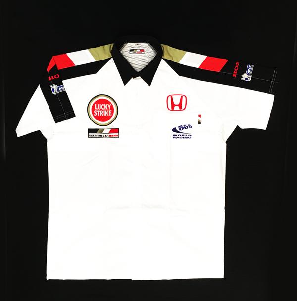 2005年 BAR HONDA ホンダ チーム支給品 ピットシャツ 新品 サイズM(大きめのM)