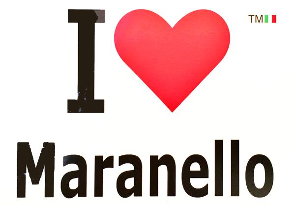 I LOVE Maranello ポストカード