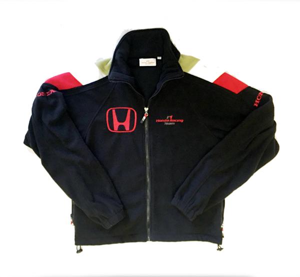 HONDA ホンダ F1 TEAM 2006 チーム 支給品  ファクトリー用 フルZIPフリース USED レディースサイズL