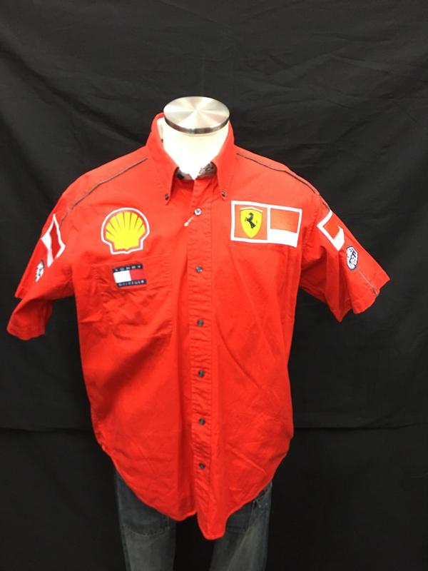 2000年 フェラーリ チーム支給品 PITシャツ ノンタバコ USED サイズM