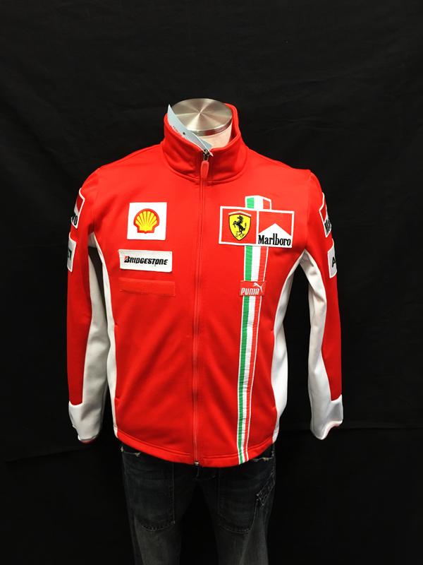 2007年 フェラーリ チーム支給品 フリース マルボロ USED レディースサイズL