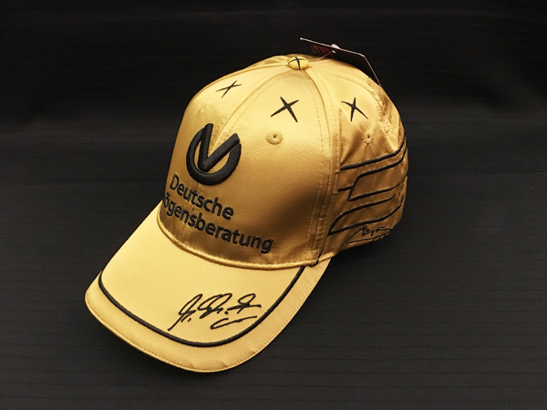 ミハエル・シューマッハ コレクション 2011 DVAG デビュー20周年記念 スパ・フランコルシャン限定ゴールドキャップ