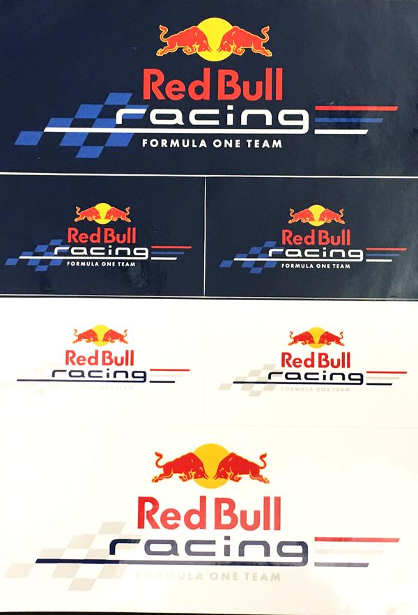 REDBULL(レッドブル) レーシング ステッカーセット