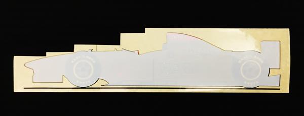 ジョーダン グランプリ 1996年 マシン型 ウインドウステッカー