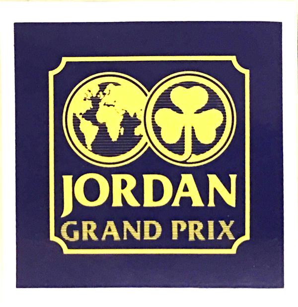 ジョーダン グランプリ 1991年(デビューイヤー) チームロゴステッカー