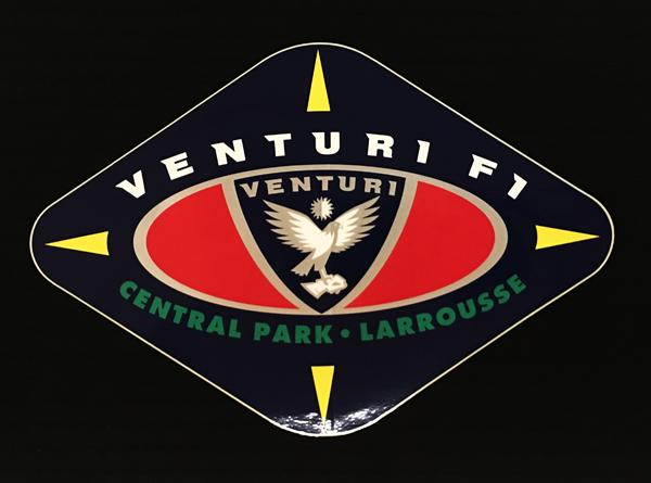 ヴェンチュリ ラルース F1 1992年 チームロゴステッカー