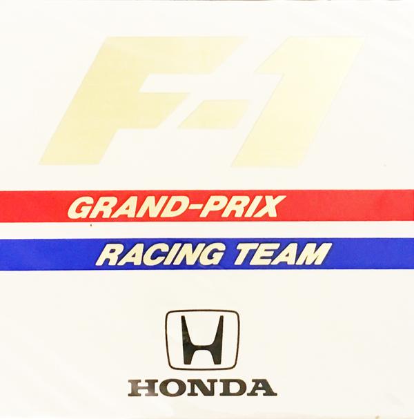 ホンダ HONDA F1 1980年代 チームステッカー
