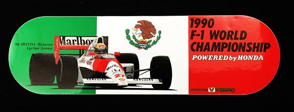 マクラーレン ホンダ 1990年 ホンダベルノ プロモーションステッカー