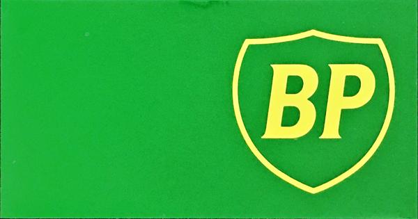 BP プロモーションステッカー