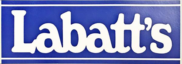 ラバッツ Labatts 1993年 ウィリアムズ プロモーションステッカー