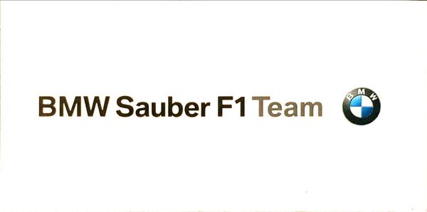 BMW ザウバー F1 2000年代 チームステッカー