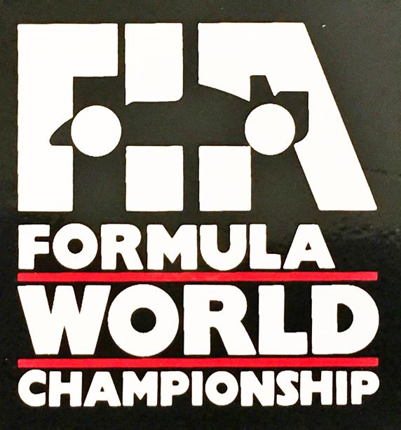 FIA フォーミュラ1 1990年代ロゴ ステッカー