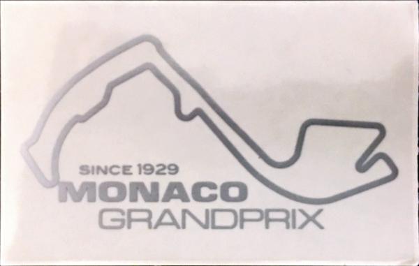 モナコGP 公式ステッカー (シルバー)