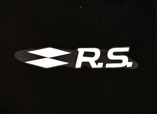 ルノー F1 RSプロモーションステッカー