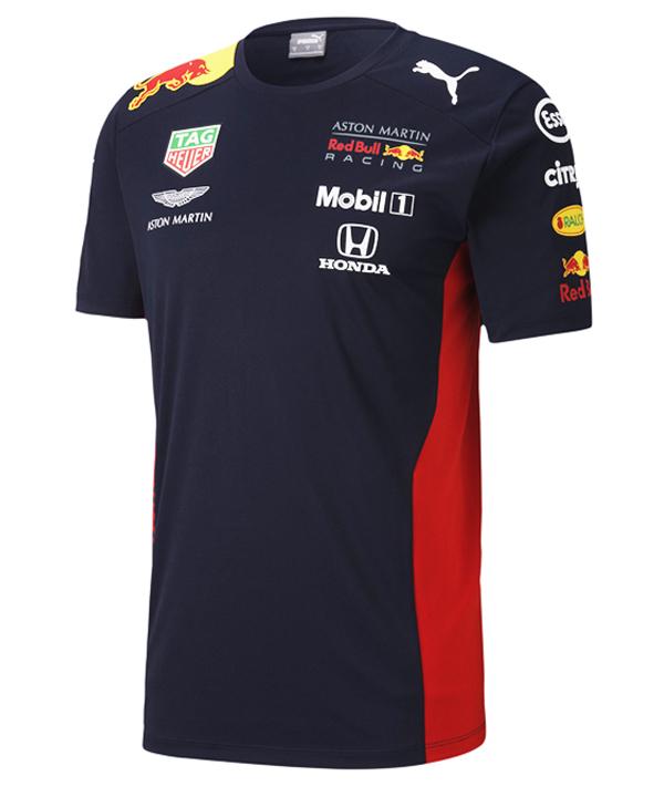 【追加入荷】2020 PUMA ASTON MARTIN REDBULL RACING レッドブル・ホンダ チームレプリカTシャツ