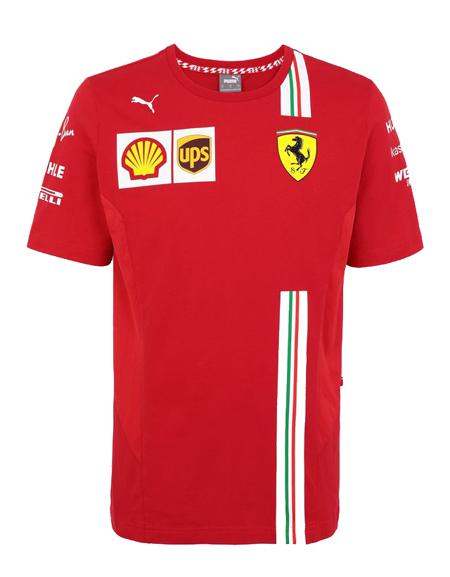 【追加入荷】PUMA FERRARI 2020SS フェラーリ チームレプリカ Tシャツ