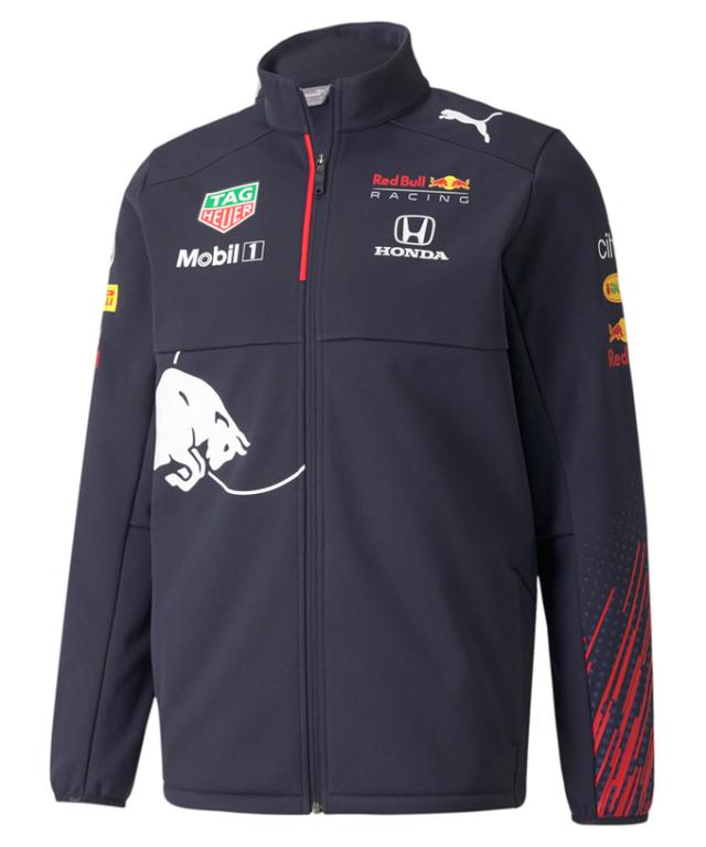 【再入荷・秋冬継続】2021 PUMA REDBULL RACING レッドブル・ホンダ チーム ソフトシェルジャケット