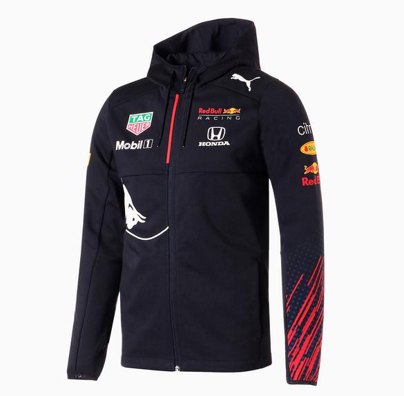 2021 PUMA REDBULL RACING レッドブル・ホンダ チーム フード付 スウェットジャケット