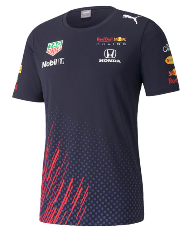 2021 PUMA REDBULL RACING レッドブル・ホンダ チーム レプリカ Tシャツ