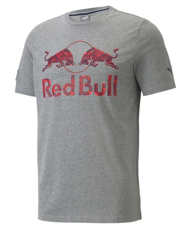 2021 PUMA REDBULL RACING レッドブル ロゴ ダブルブル Tシャツ グレー